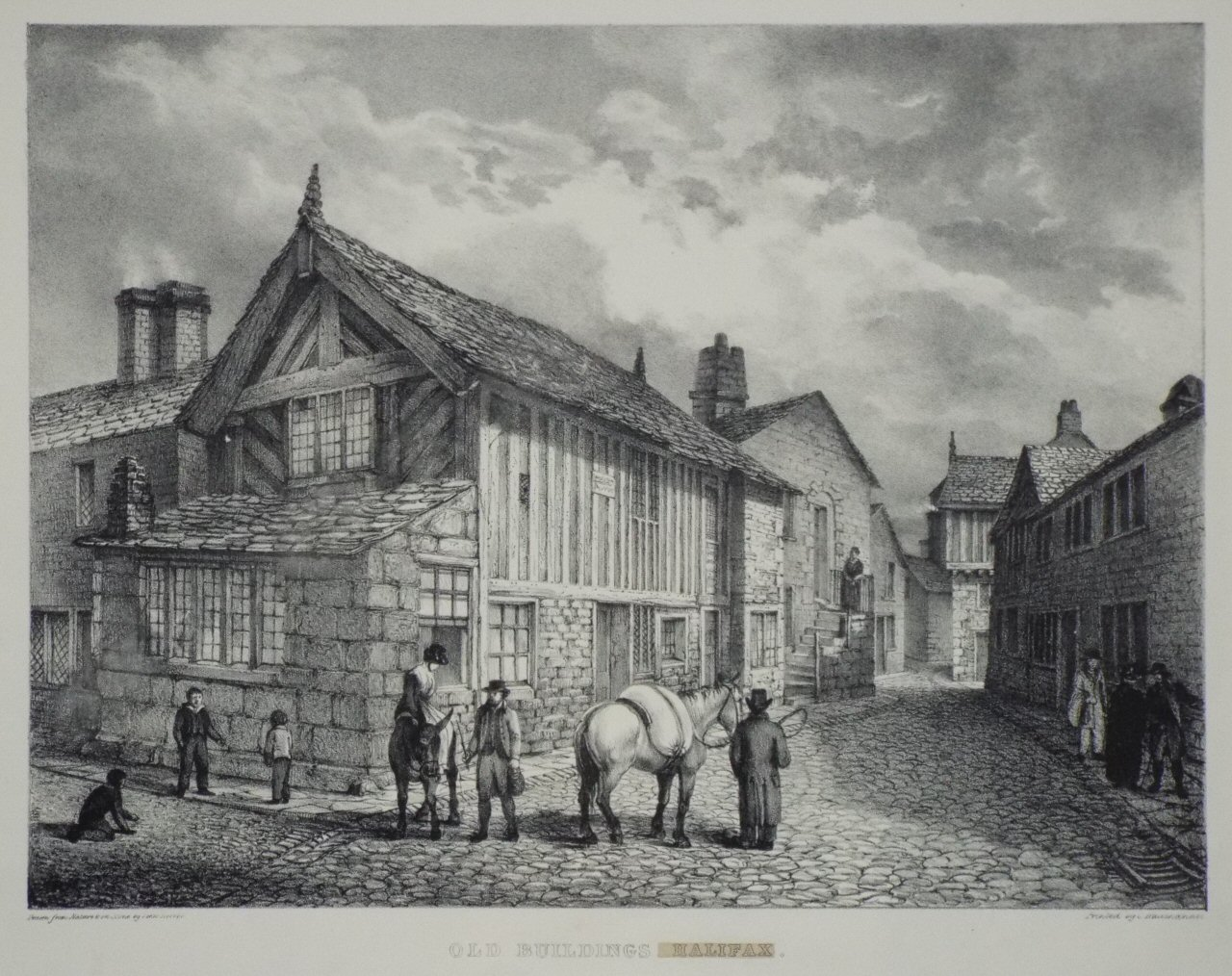 Buildings in the Town and Parish of Halifax