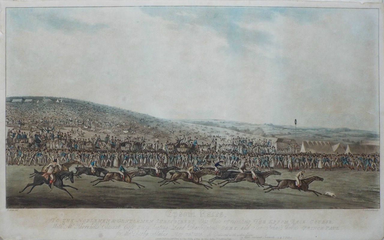 Antique Prints - Sporting - Horse Racing