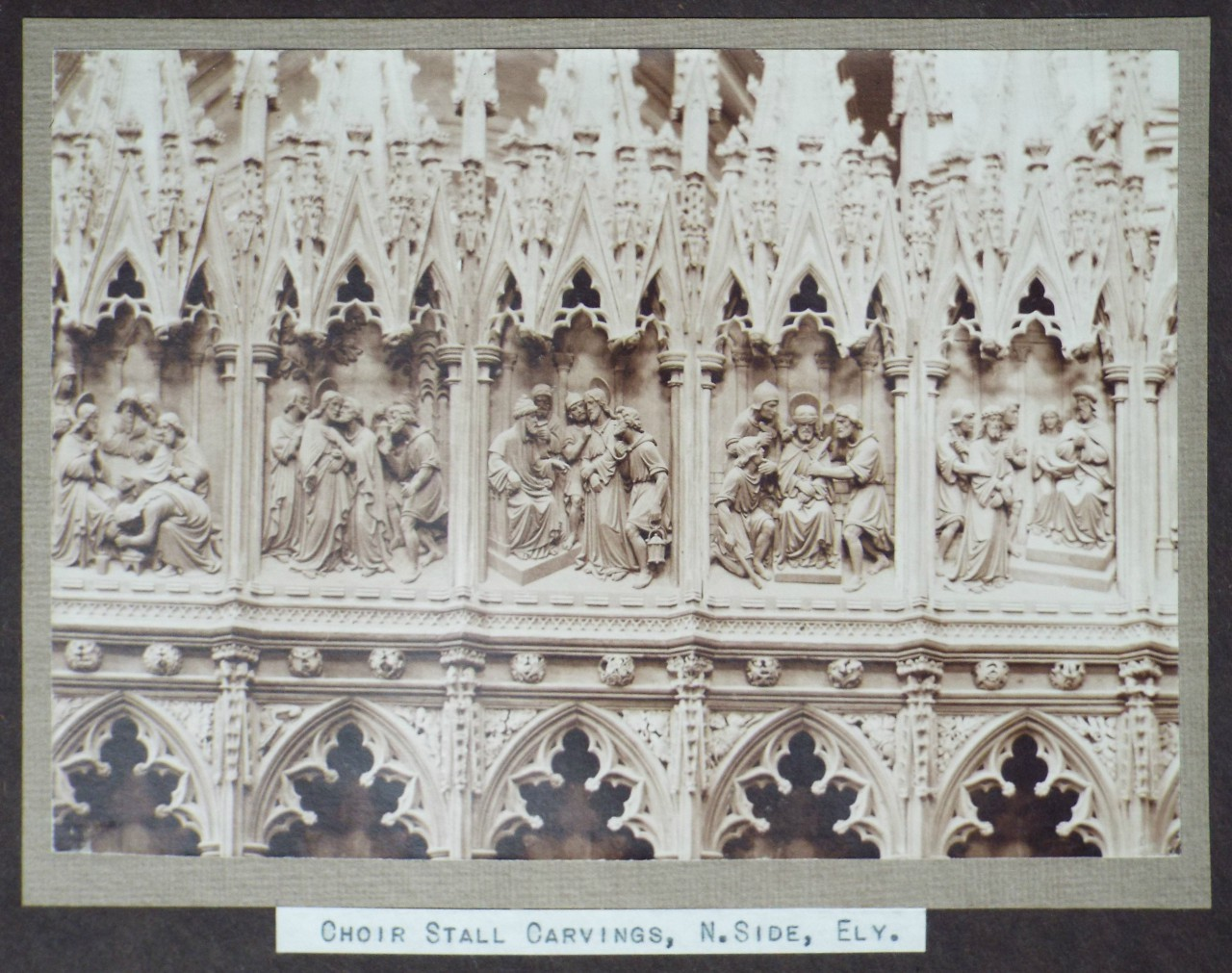 Antique Prints of Ely Cathedral