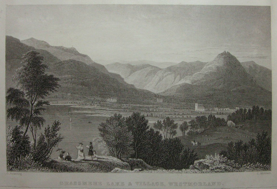 Antique Prints of Lake District Westmorland