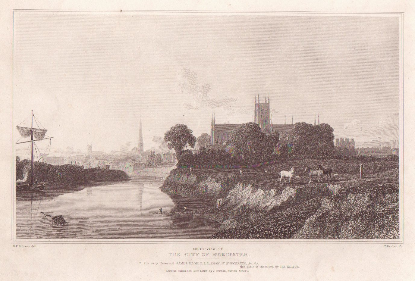 Picturesque Views of the English Cities