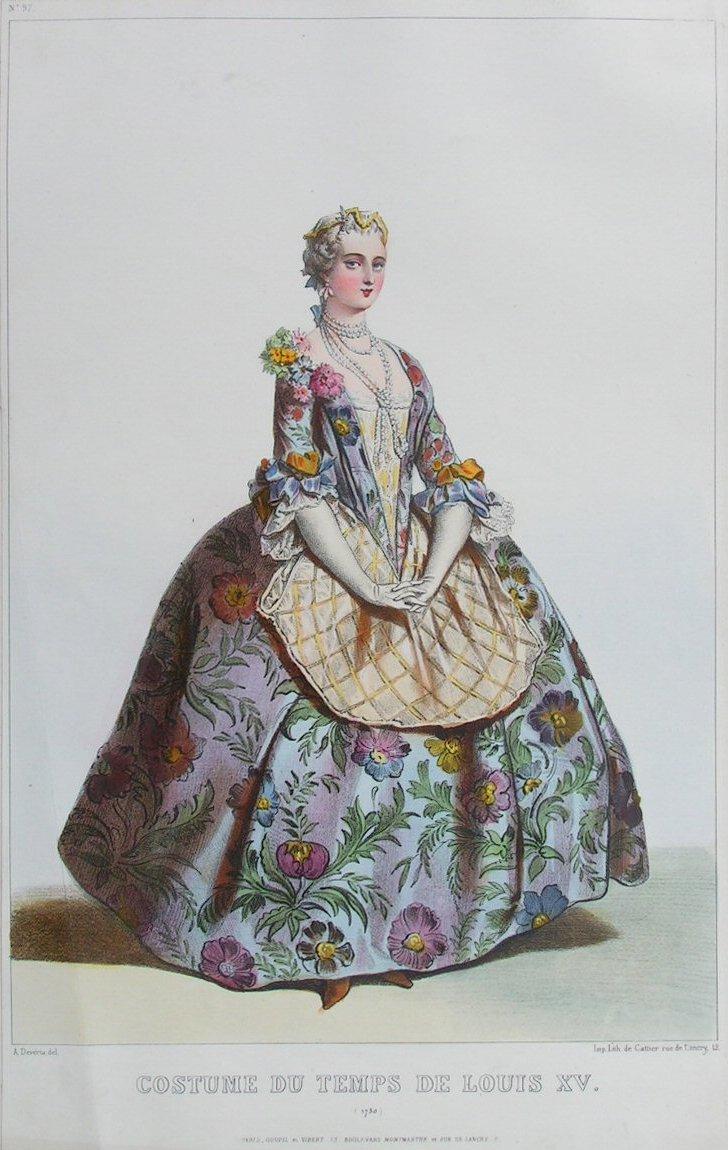 Antique Prints after Achille Deveria