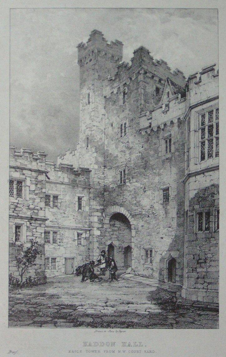 haddon hall derbyshire