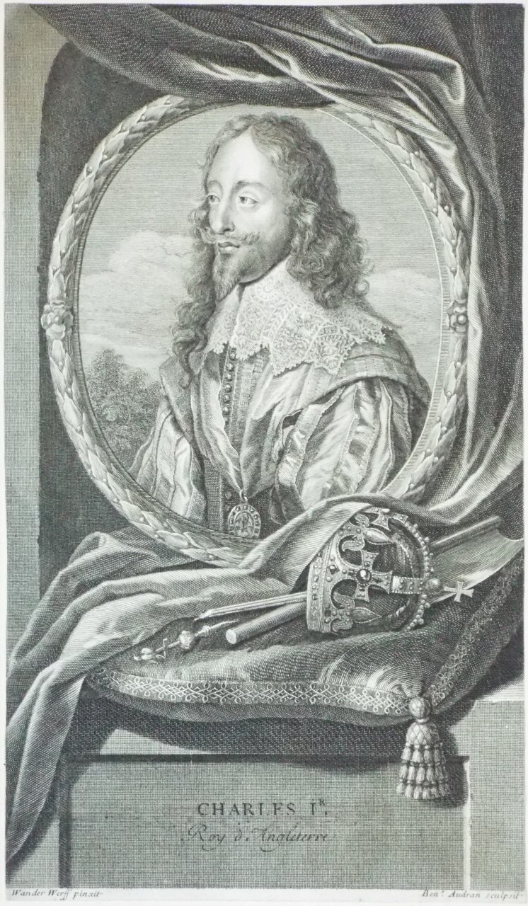Antique Prints after King Charles I