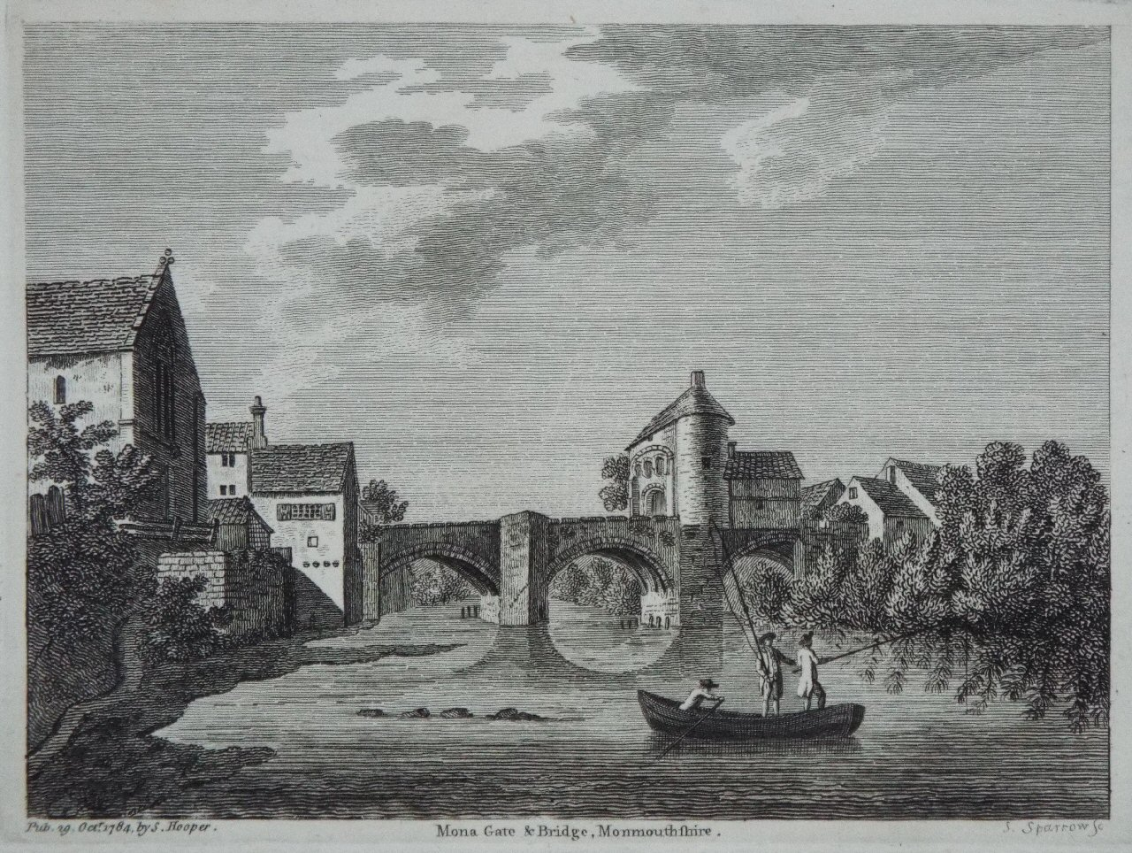 Image result for painting of monmouth 1800