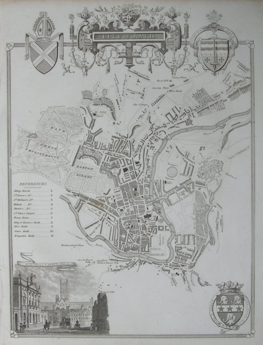 Map of Bath - Bath