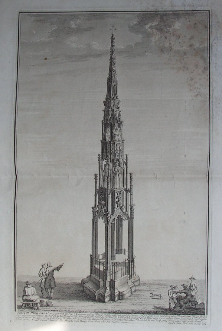 Print - Bristol High Cross - Buck