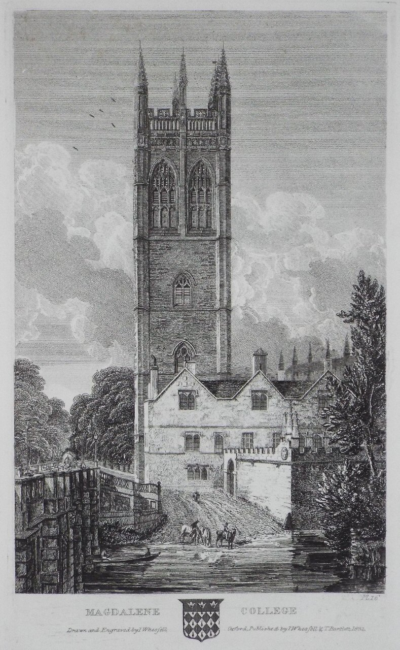 Print - Magdalene College - Whessell