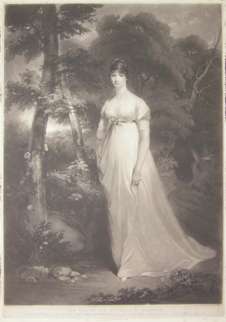 Mezzotint - Her Grace the Duchess of Bedford - Reynolds