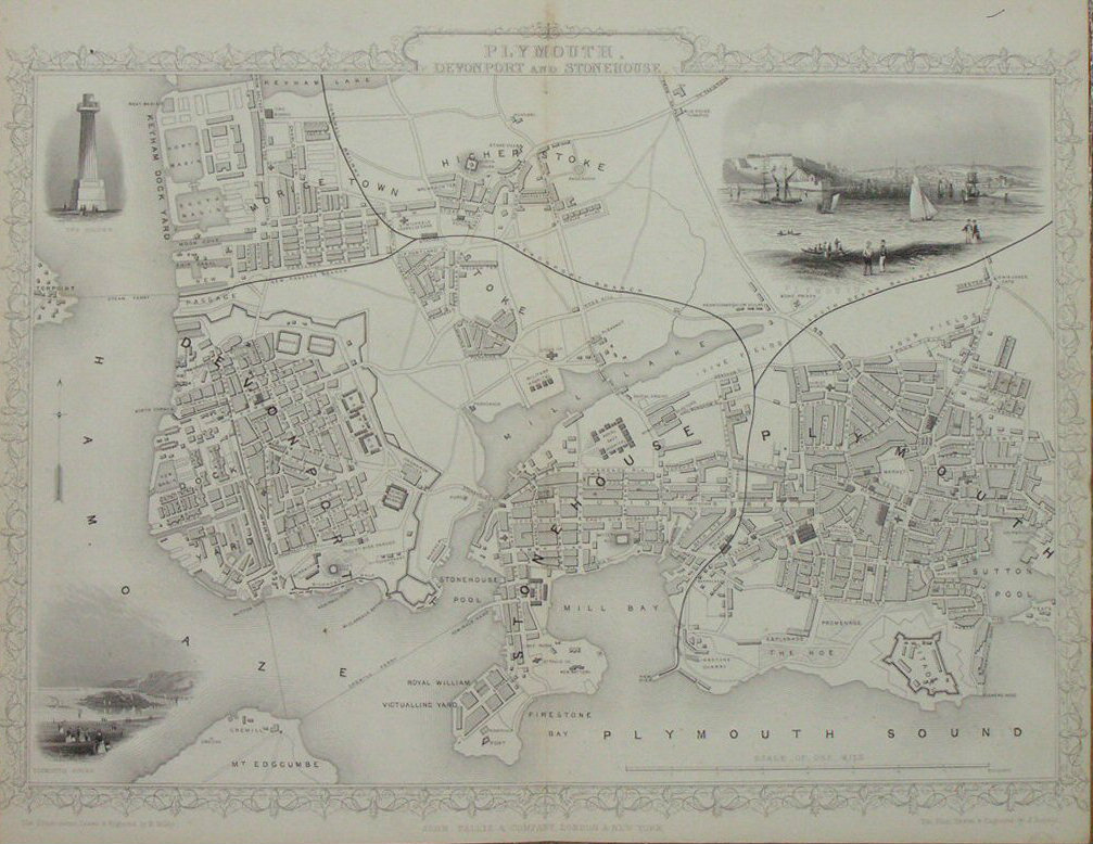 Map of Plymouth - Plymouth