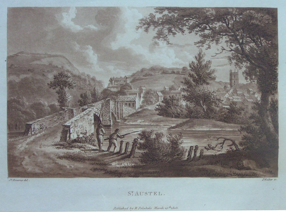 Aquatint - St. Austel - Walker