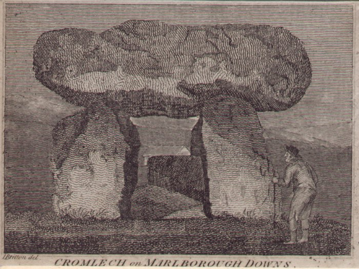 Print - Cromlech on Marlborough Downs