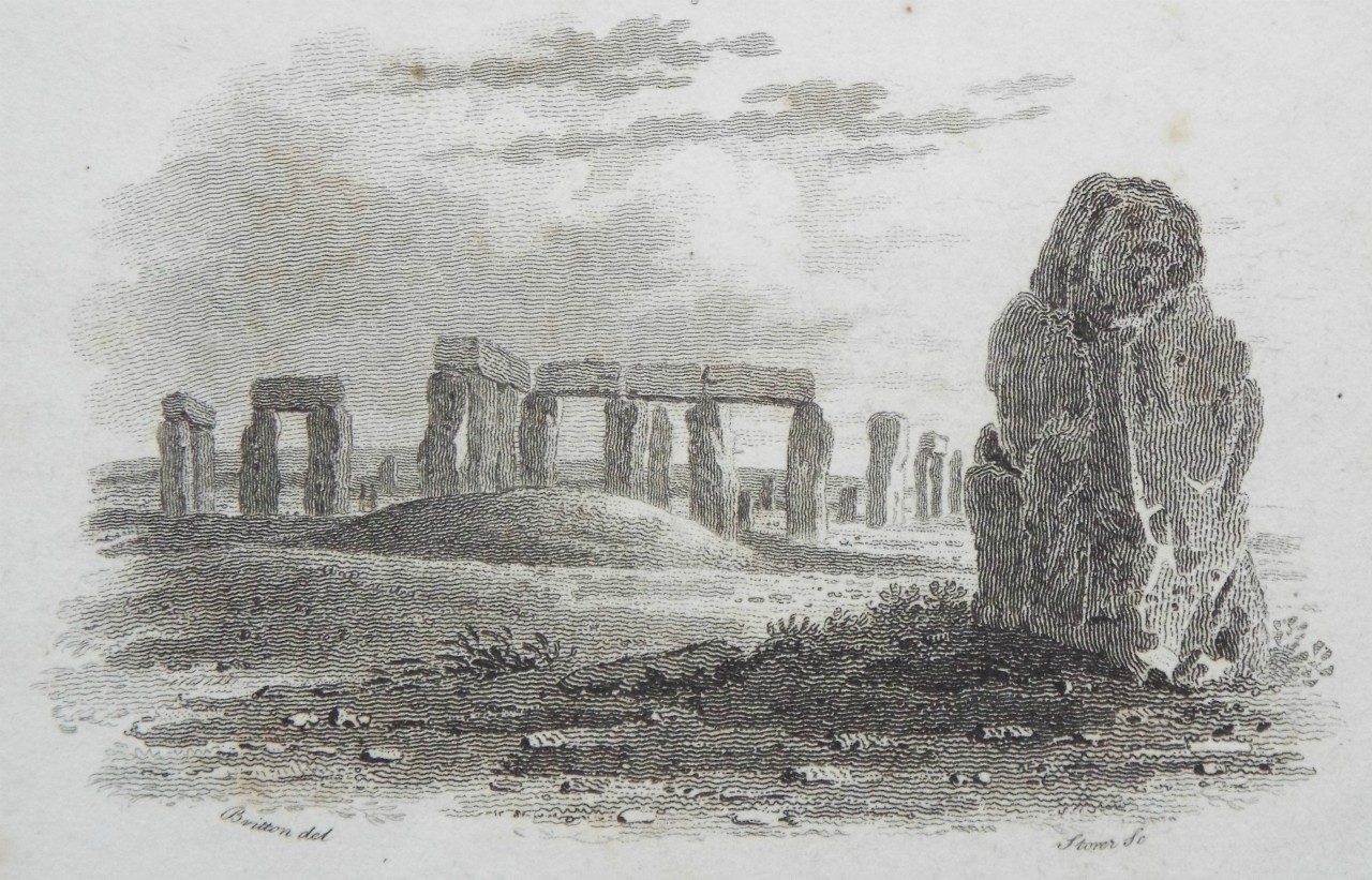 Print - (Stonehenge from the East)  - Storer
