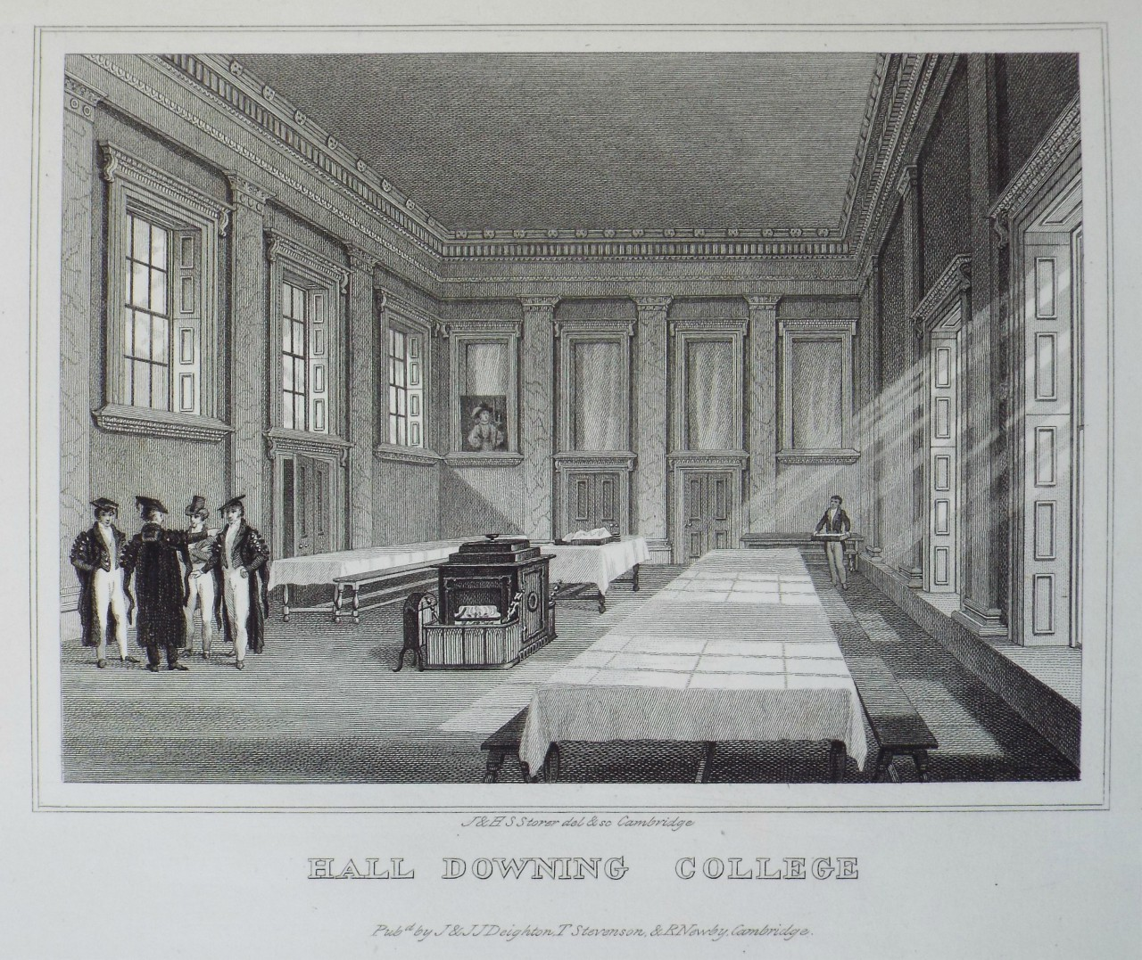 Print - Hall Downing College - Storer