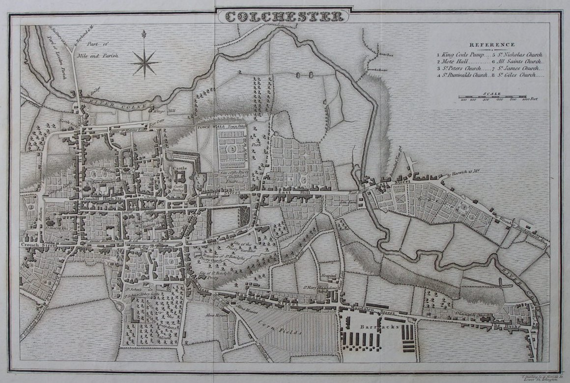 Map of Colchester - Colchester