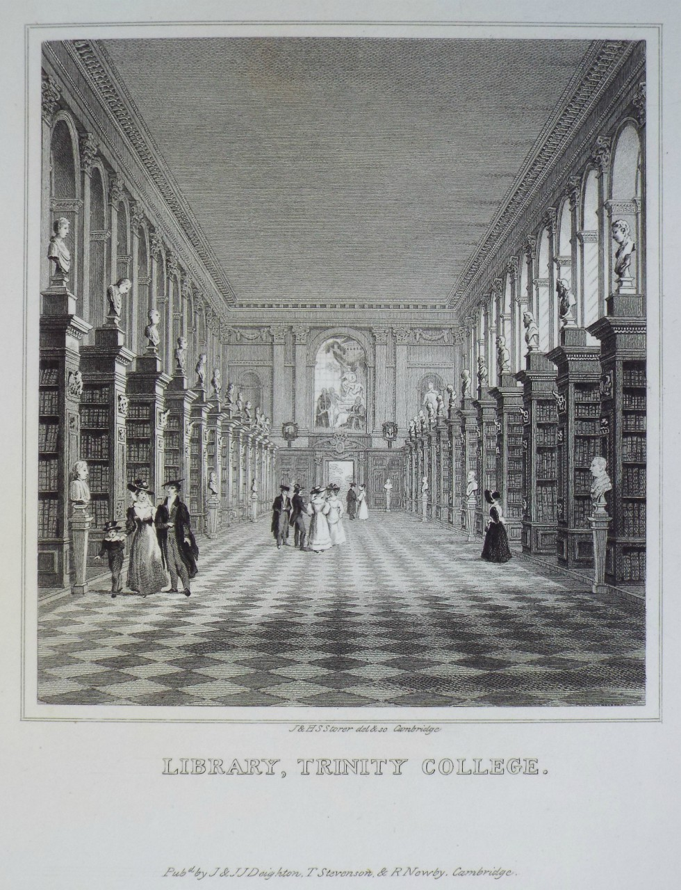 Print - Library, Trinity College. - Storer