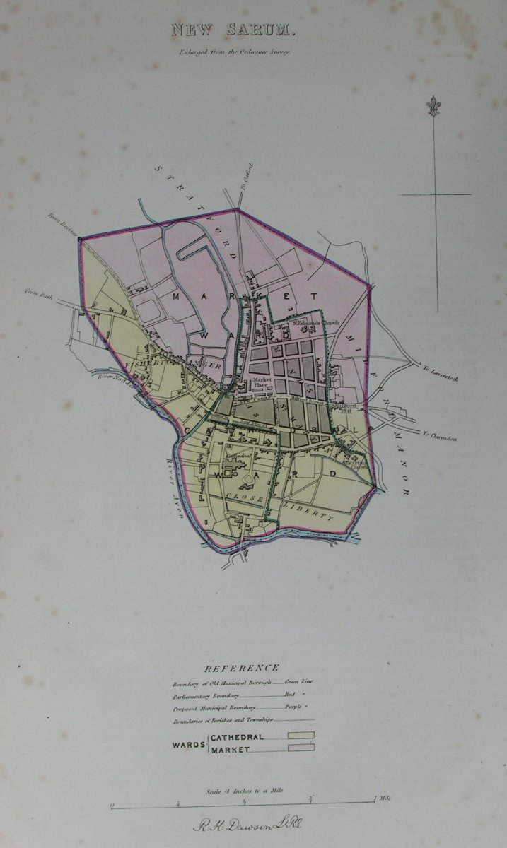 Map of Salisbury - Salisbury