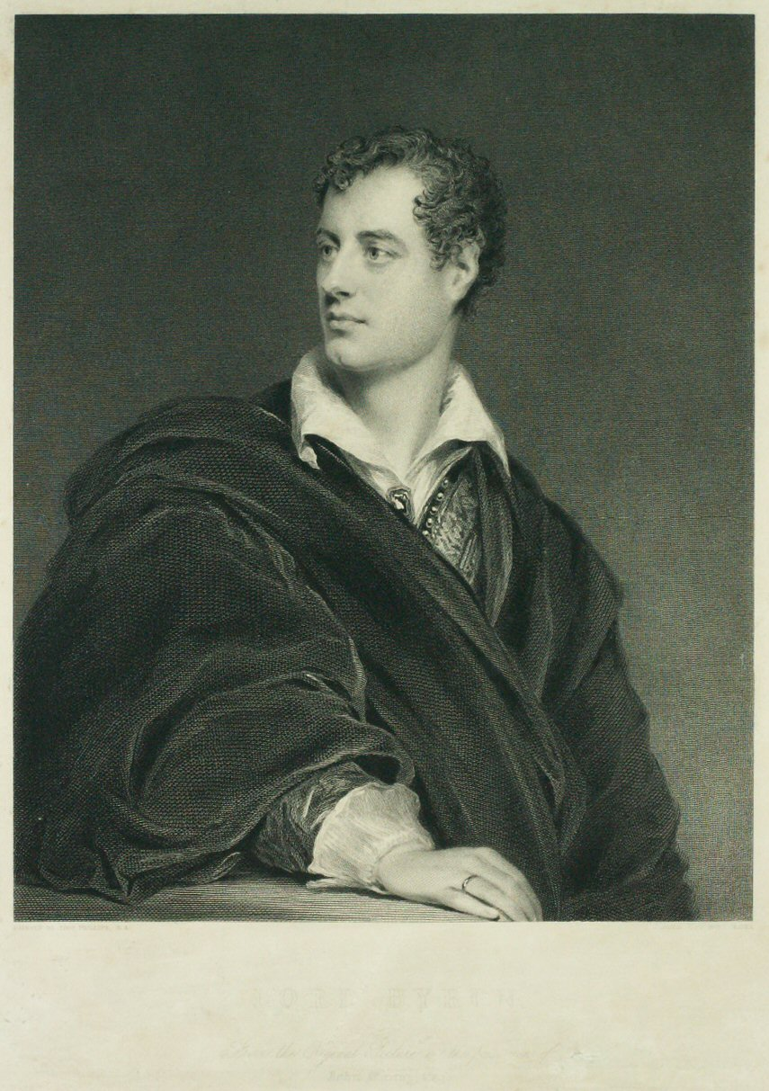 Print - Lord Byron - Graves