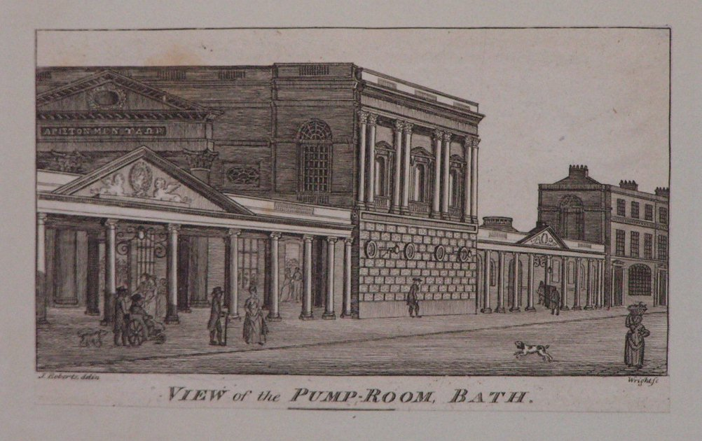 Print - View of the Pump-Room, Bath