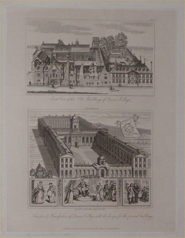 Print - Queen's College - Skelton
