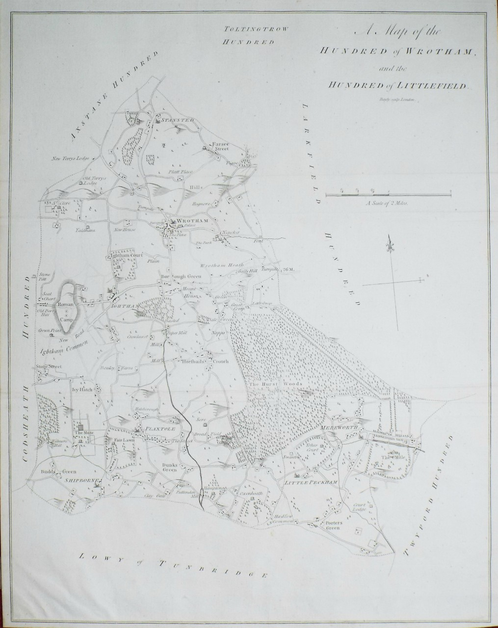 Map of Wrothan and Littlefield
