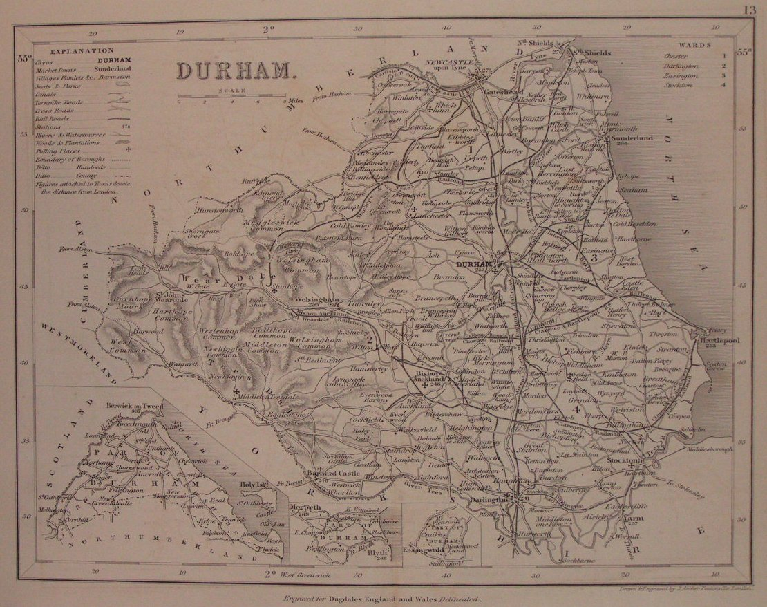 Map of Durham - Archer