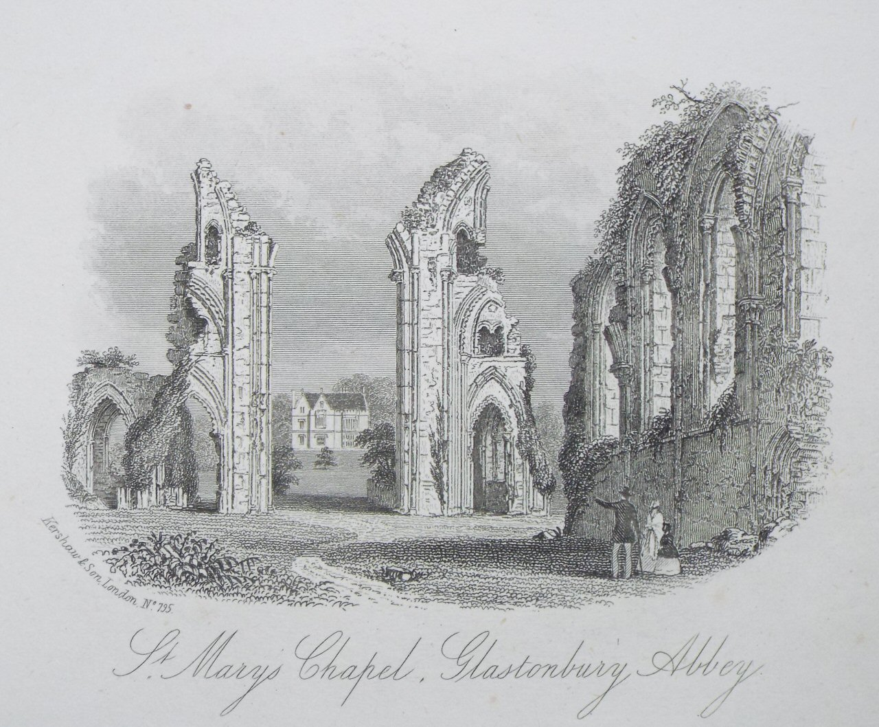 Steel Vignette - St. Mary's Chapel, Glastonbury Abbey - Kershaw