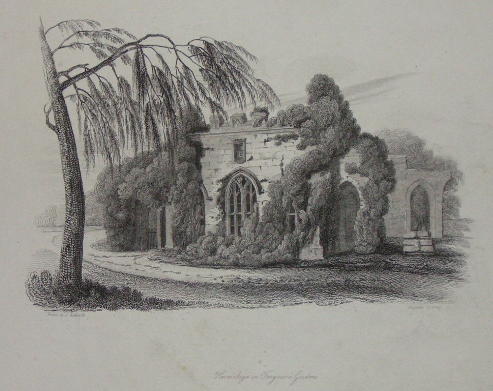 Print - Hermitage in Frogmore Gardens -