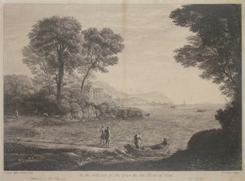 Print - In the Collection of His Grace the late Duke of Kent - Canot