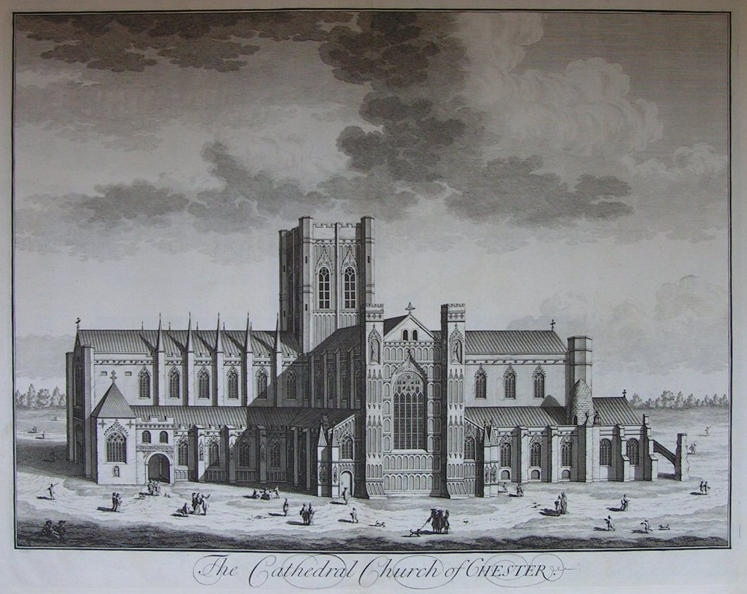 Print - The Cathedral Church of Chester