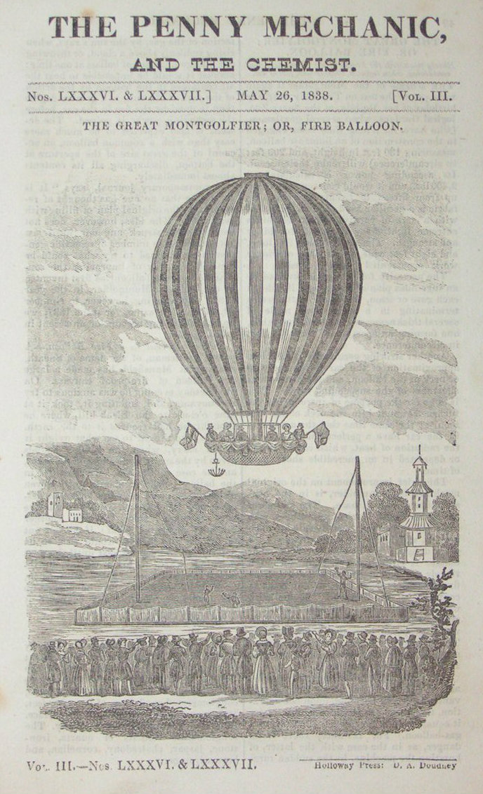 Wood - The Great Montgolfier, or Fire Balloon