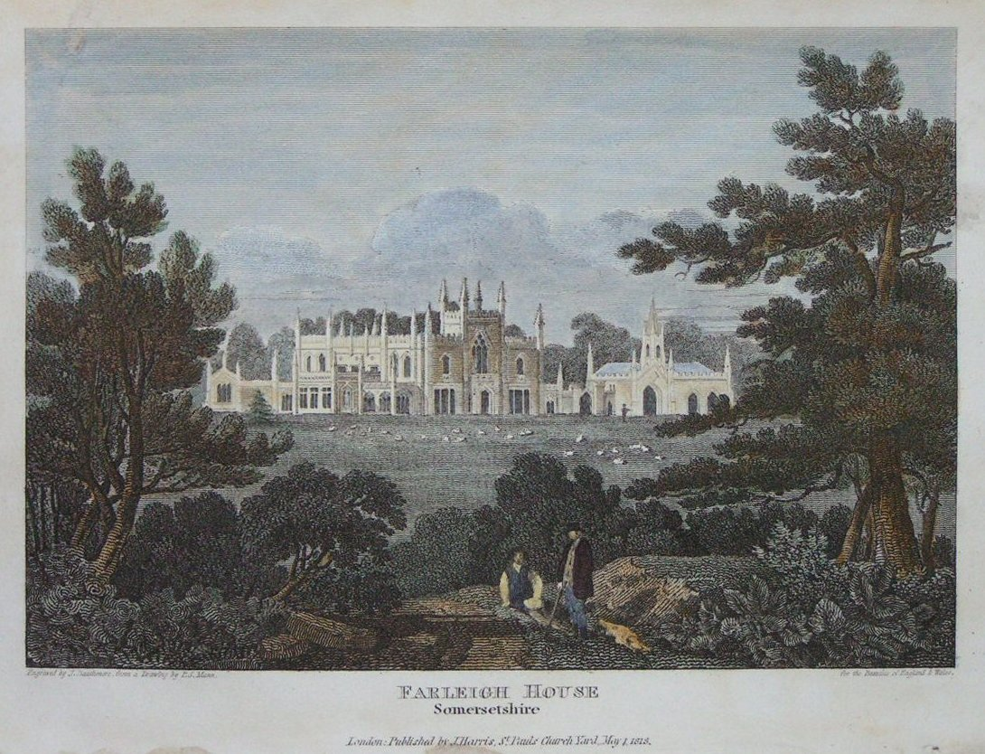Print - Farleigh House, Somersetshire - Dauthmore