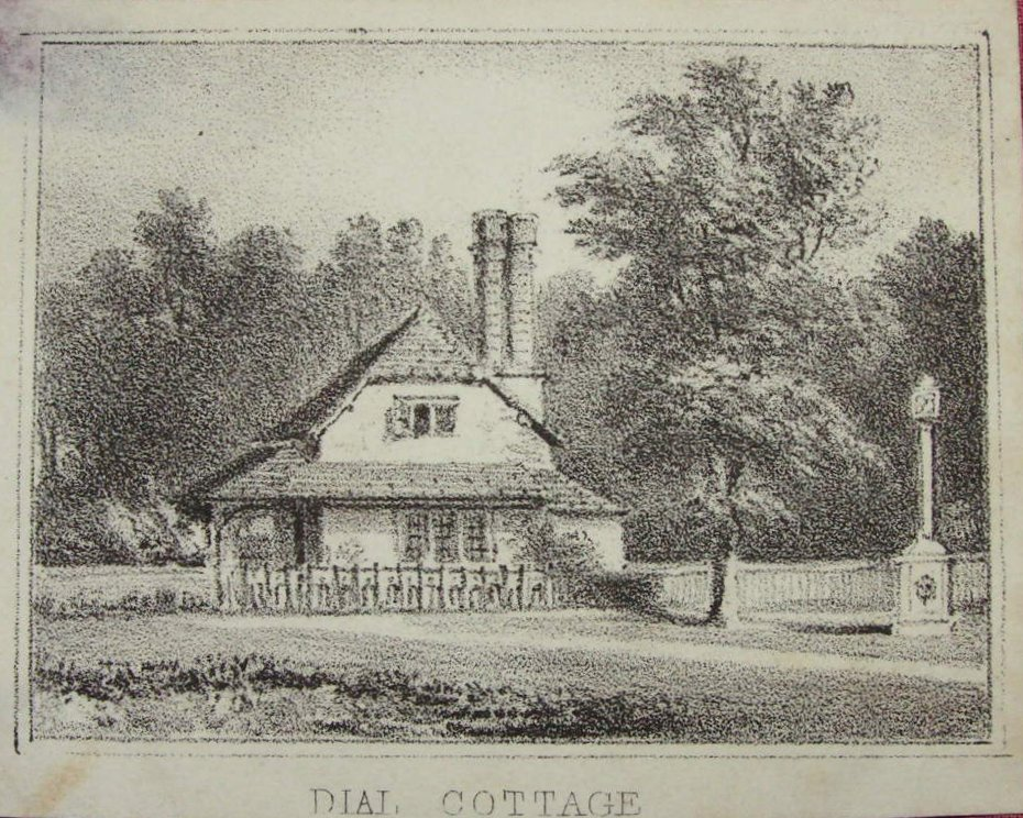 Lithograph - Dial Cottage