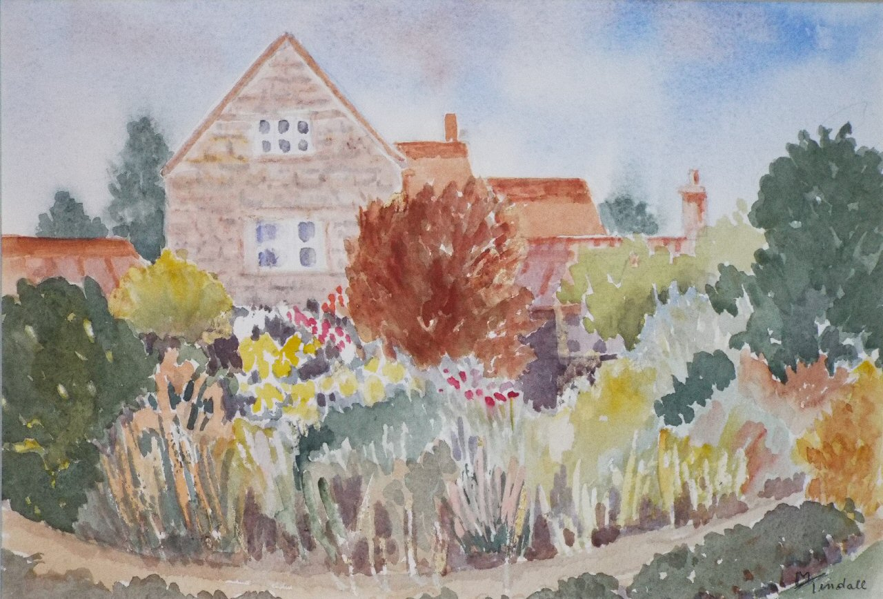 Watercolour - Nash Villa, Marnhull