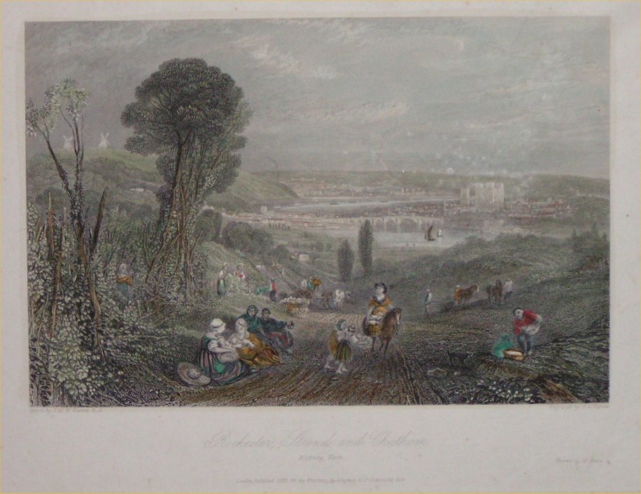 Print - Rochester, Stroud and Chatham - Varrell