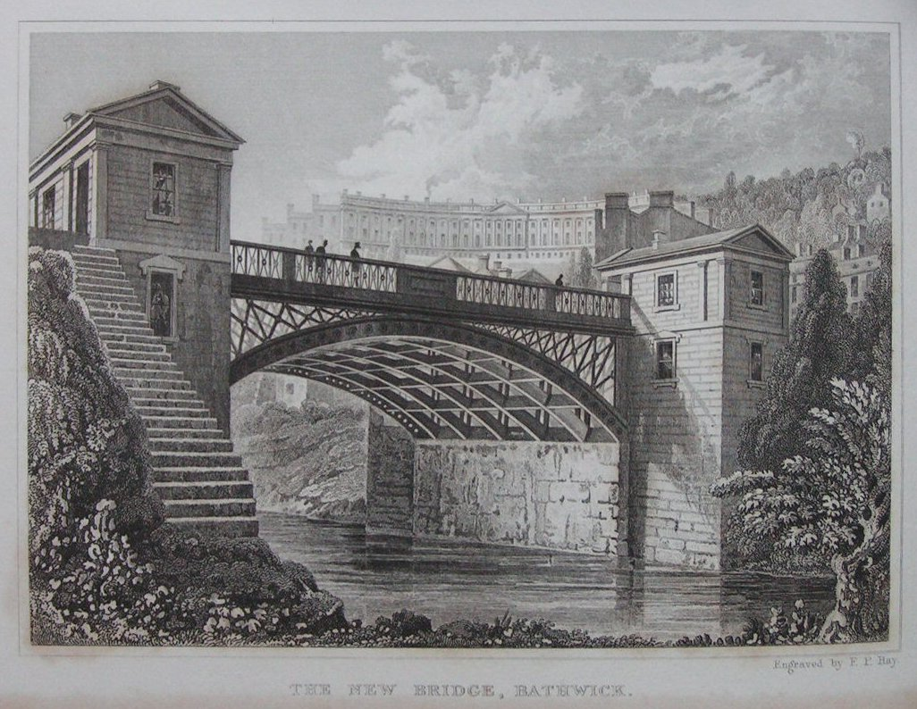 Print - The New Bridge, Bathwick - Hay