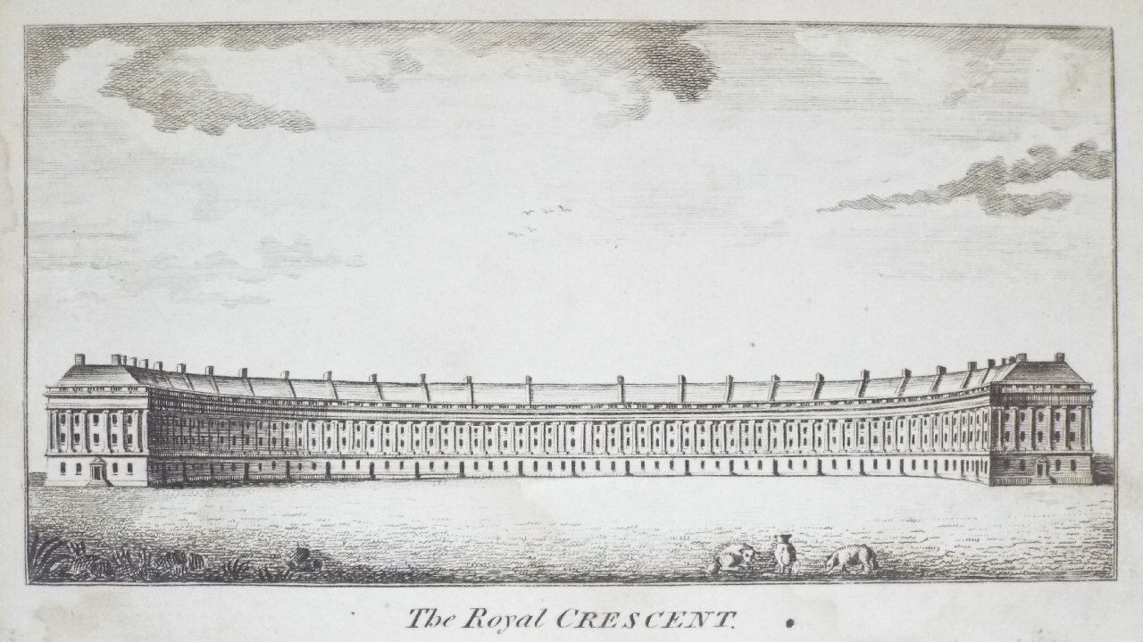 Print - The Royal Crescent.