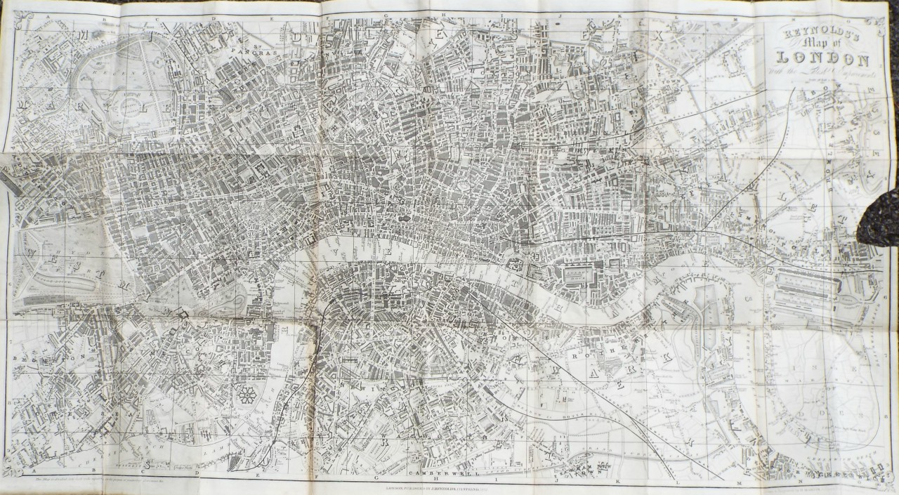 Map of Central London - Central London