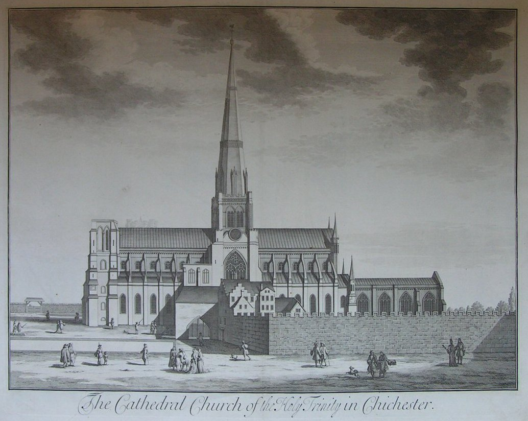 Print - The Cathedral Church of the Holy Trinity in Chichester