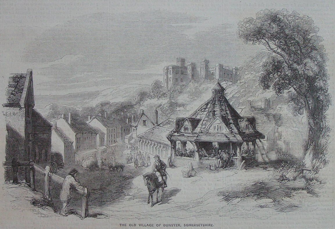 Wood - The Old Village of Dunster, Somersetshire