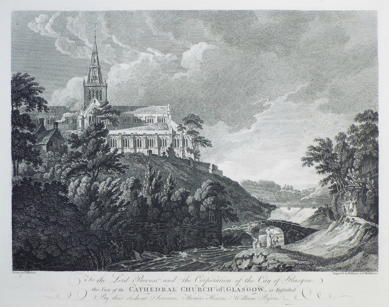 Print - Cathedral Church of Glagow - Smith