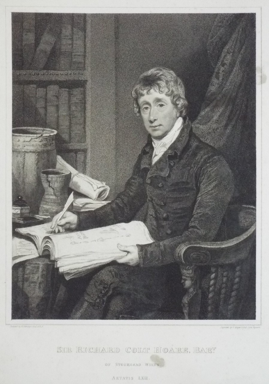 Print - Sir Richard Colt Hoare, Bart. of Stourhead Wilts - Meyer